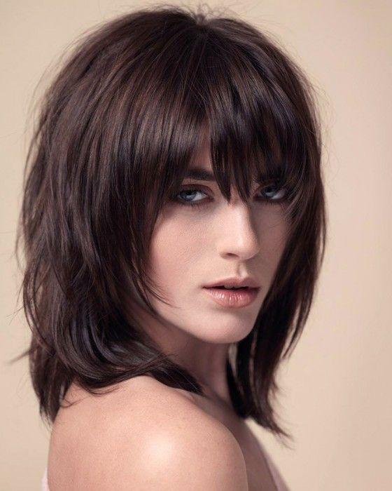 Frisuren Mittellang Gestuft Ohne Pony Frisuren Mittellang Gestuft Haarschnitt Frisuren Lang