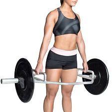 Trap Bar Hex Olympic Weight Deadlift Lift Shrug Barbell Dumbbell Gym Squat Train