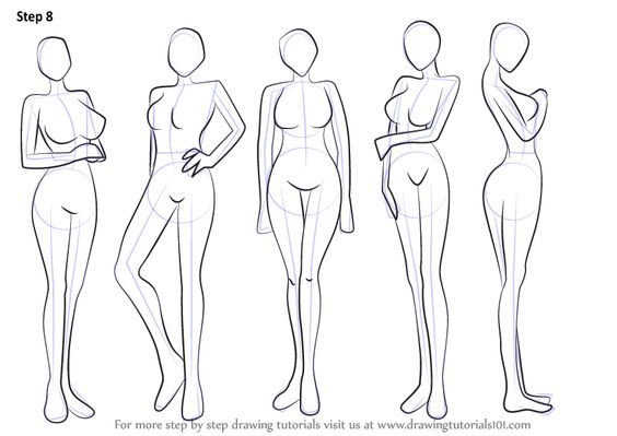 Learn How To Draw Anime Body