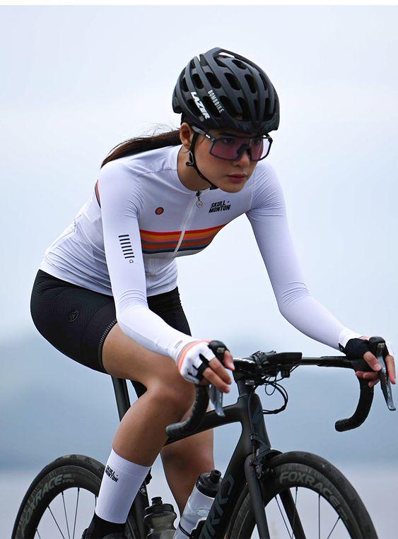 Long Sleeve Cycling Jerseys Women S In 2020 Bike Jersey Women Cycling Outfit Cycling Women