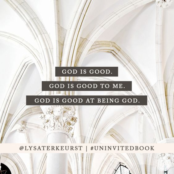 the daily Starr trash out tuesday uninvited book lysa terkeurst 7
