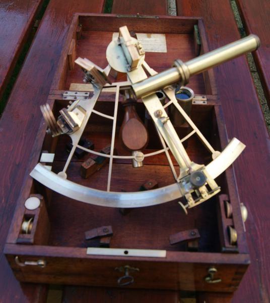 French Antique sextant LORIEUX PONTHUS