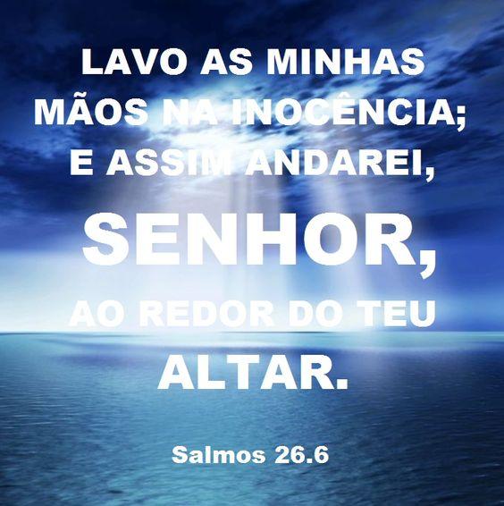 Salmos 26.6