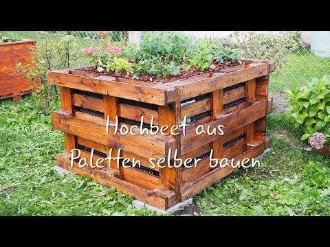 Hochbeet Bauen Anleitung Und Video Plantura In 2020 Building Raised Beds Building Raised Garden Beds Diy Garden Bed