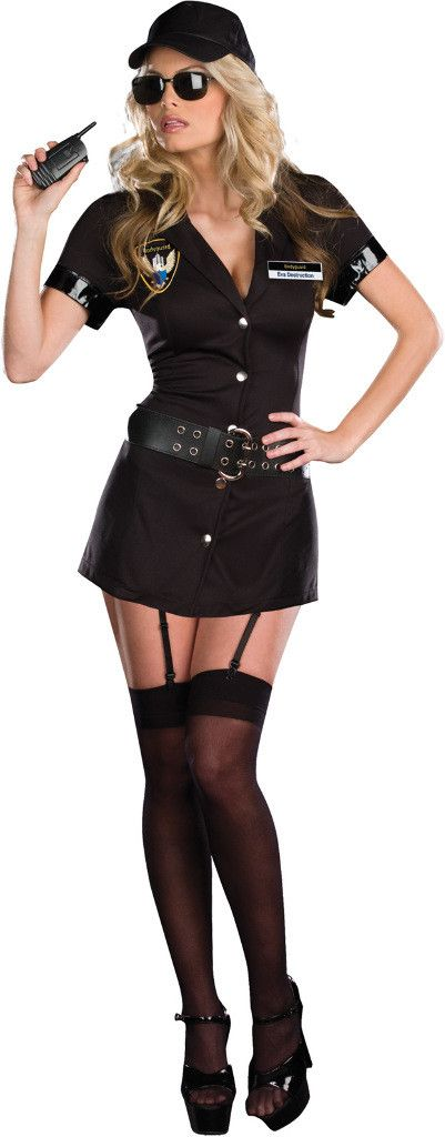 women's costume: bodyguard eva destruction