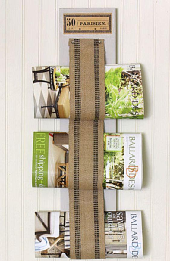 ideas de revisteros | los revisteros han sido parte de la decoracion del hogar de ...