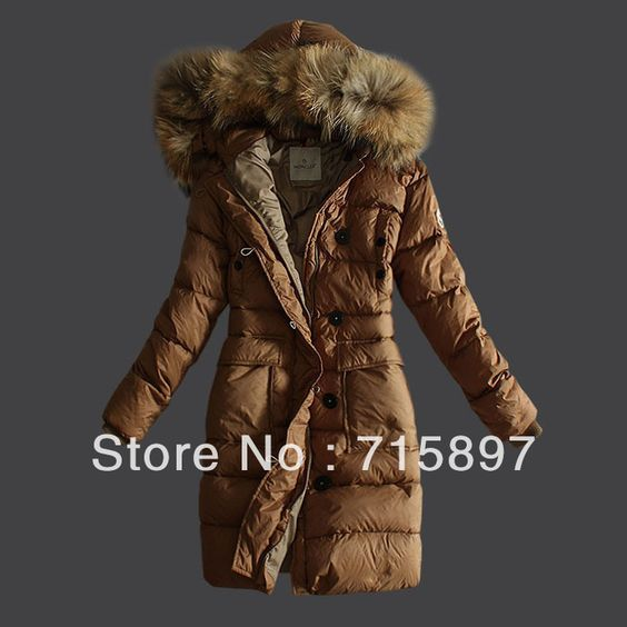 Geninue Brand long women's winter coats and jackets,Brand down parkas,outerwears with fur hoody,free shipping $145.00