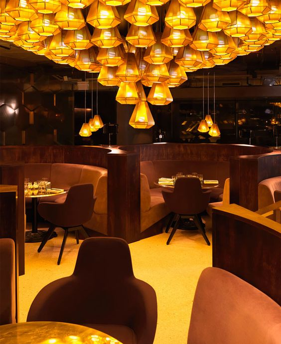 Restaurant with Parisian Chic Decorating