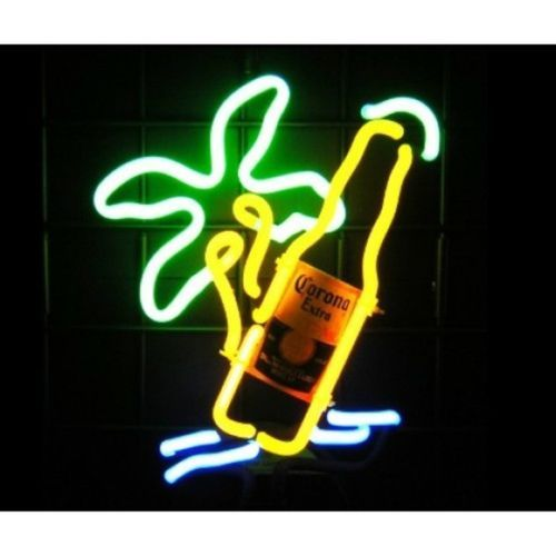 Corona Style Beach Palm Island Neon Sculpture Bar Sign Man Cave Wall  Tabletop | EBay | .Artwork U0026 Logos: Alcohol | Pinterest | Bar Signs, Man  Cave And ...