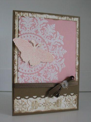 Hochzeit - Vintage Grußkarte - ein Designerstück von beemybear bei DaWanda
