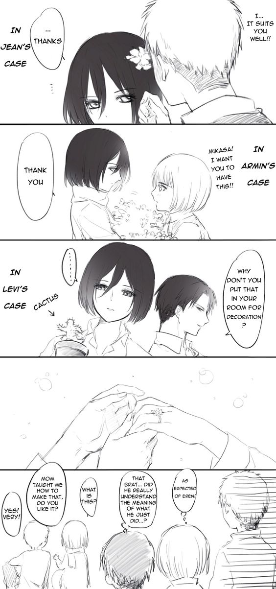 mikasa and levi relationship quotes