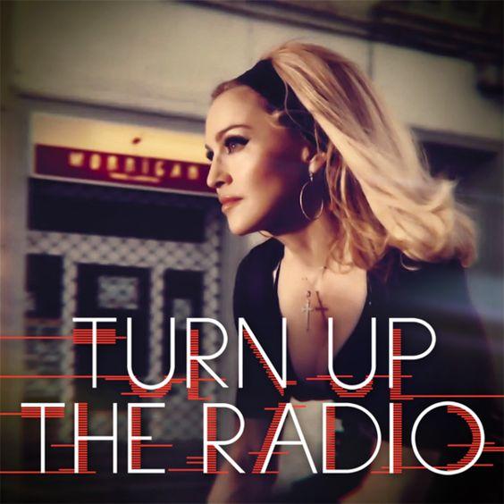 Madonna – Turn Up the Radio (single cover art)
