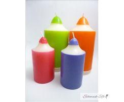4  Buntstift Kerzen SPAR SET  zum Schulanfang ohne Motiv...