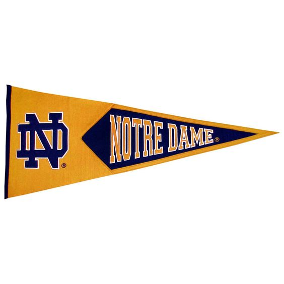 Notre Dame Fighting Irish NCAA Classic Pennant (17.5x40.5)