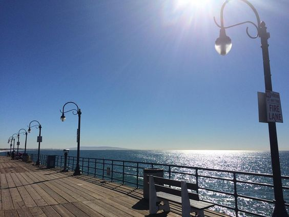 #santamonicapier #santamonica #california by teresacris
