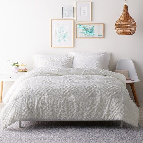 Lc Lauren Conrad Tufted Chenille Comforter Set Comforter Sets Duvet Cover Sets Room Decor Bedroom