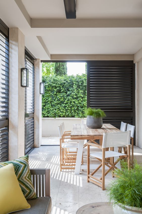 modern outdoor living melbourne. sophisticated indoor outdoor living in melbourne | living, dining and spaces modern a