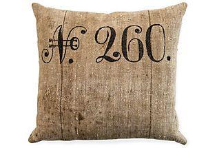great linen pillow