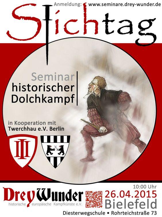 STICHTAG 2015 - Dolchkampf Seminar in Bielefeld