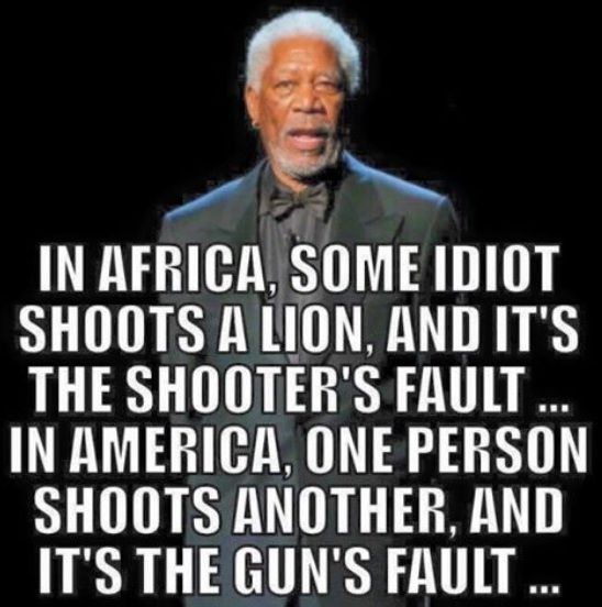 Morgan Freeman and Common Sense