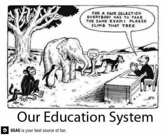 Twitter / 9GAG: Our education system ...