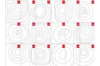 Wassily Kandinsky Farbstudie Quadrate mit konzentrischen Ringen