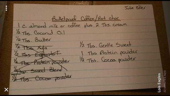 Coffee/Chocolate Drink