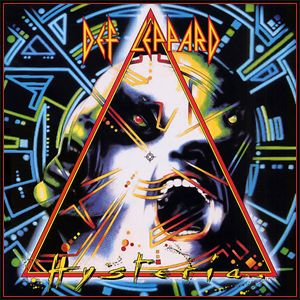 Def Lepard: Hysteria    Hysteria's highlight, still: the title track, six gorgeous minutes of thwarted desire and honeyed anticipation. With guitars skittering lightly over throbbing synths and Joe Elliott trying to persuade a girl who's just out of reach, it's as close as Def Leppard ever came to restraint. Brilliant and simple, perfect summer anthems for headbangers looking to fit back into their high school jeans. This album is fun for fun sake and surprisingly musically sound.