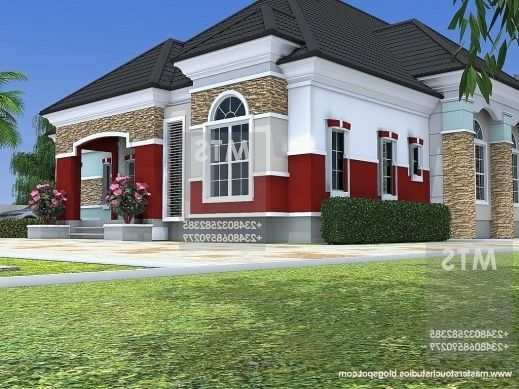 Bungalow Designs In Nigeria 5 Bedroom Bungalow Floor Plans In Nigeria Bungalow House Design Bungalow House Plans Modern Bungalow House Plans