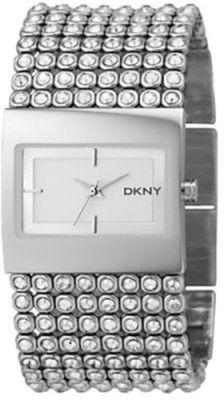 Relógio DKNY Women's NY4661 Crystal Accented Stainless Steel Watch #Relógio #DKNY