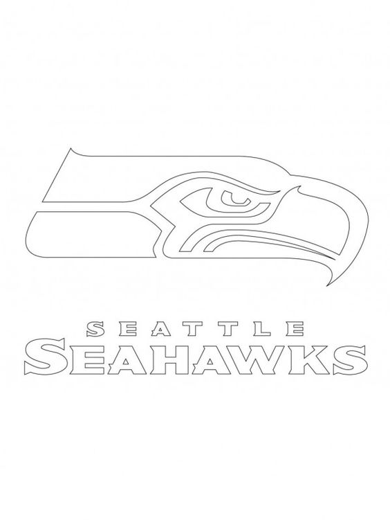 Printable seattle seahawks logo coloring pages kidskat for Seattle coloring pages