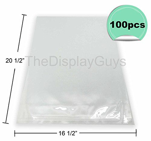 The Display Guys 100 Pcs 16 12x 20 12 Clear Self Adhesive Plastic Bags For 16x20 Picture Photo Framing Mats Find Out More Picture Photo Adhesive Plastic Bag