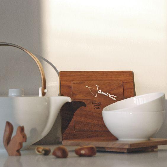 Limitierte Auflage des Teeservice Chai - handsigniert vom Designer Jannis Ellenberger -  ein Muss für jeden Designliebhaber, der gerne Tee trinkt