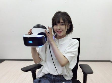 VRを体験する鬼頭明里