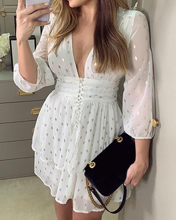Light Fabric Summer Dresses 2020 outfit fashion casualoutfit fashiontrends