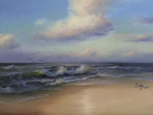 "Joyce Ortner - Seascape Artist  For sure on my ""To Paint"" list!"