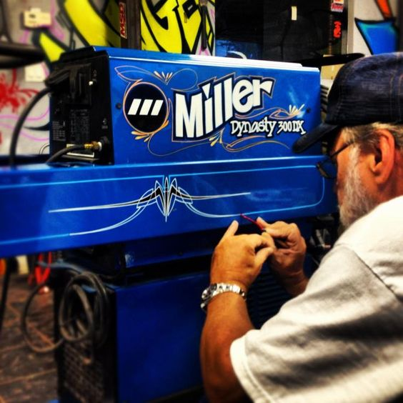 Miller Welder Blue Spray Paint