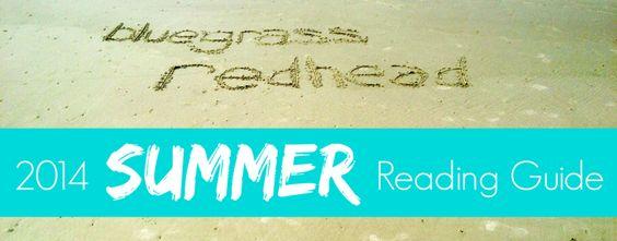 My 2014 Summer Reading Guide — bluegrass redhead