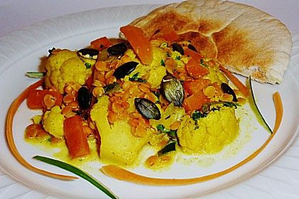 Blumenkohl - Curry (Rezept mit Bild) von cybercopbln | Chefkoch.de