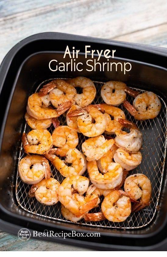 Air-Fryer Recipes | Air Fryer Garlic Shrimp with Lemon