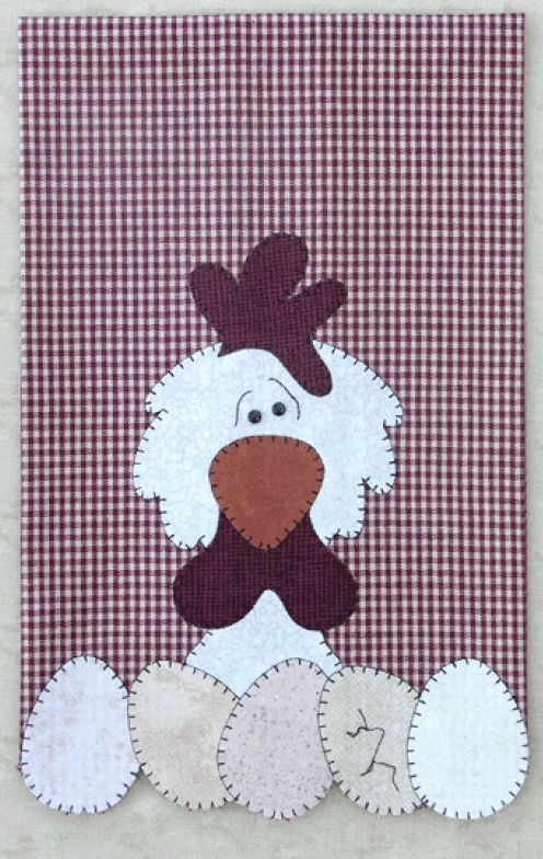 P11 Chicken Patternlet from the Farm Animals Group by The Wooden Bear ...