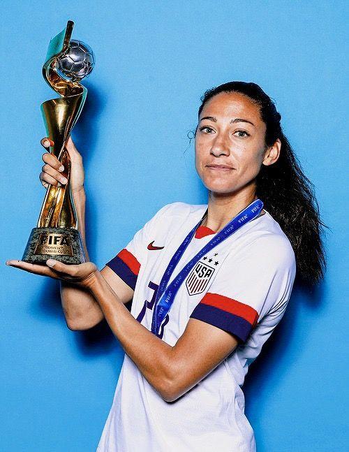Christen Press 23 Uswnt Official Fifa Women S World Cup 2019 Portrait Usa Soccer Women Uswnt Uswnt Soccer