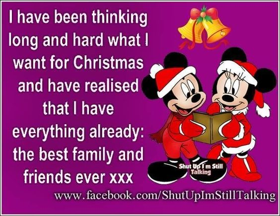 I Have The Best Family And Friends Disney Christmas Quote Christmas  Christmas Quotes Disney Christmas Cute Christmas Quotes Christmas Love  Quotes Cu2026