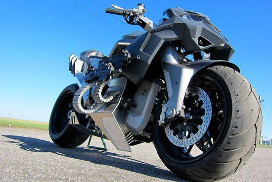 変形するバイク