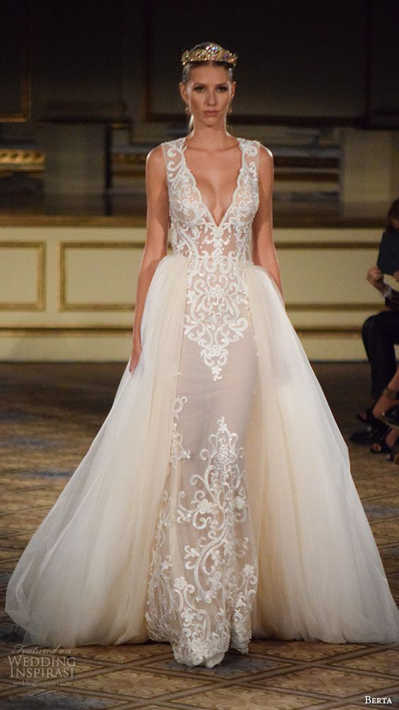 Wedding Gowns New York : New york bridal fashion week october part berta