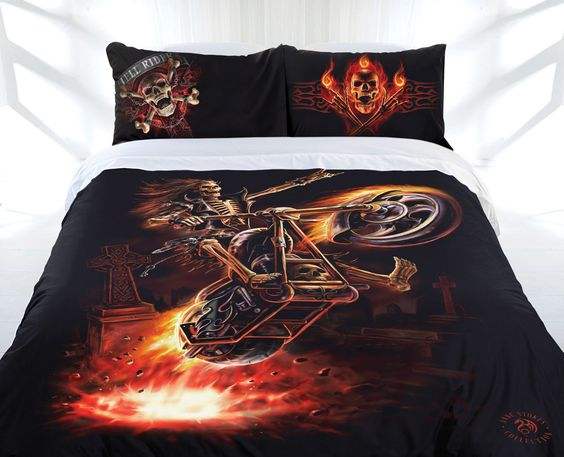 Hell Rider, Fantasy Art Trading's Online Store. $111.00 AUD King Size