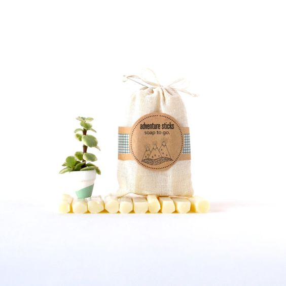 Northwest Pine Soap Sticks :: Soap To Go. travel soap by prunellasoap