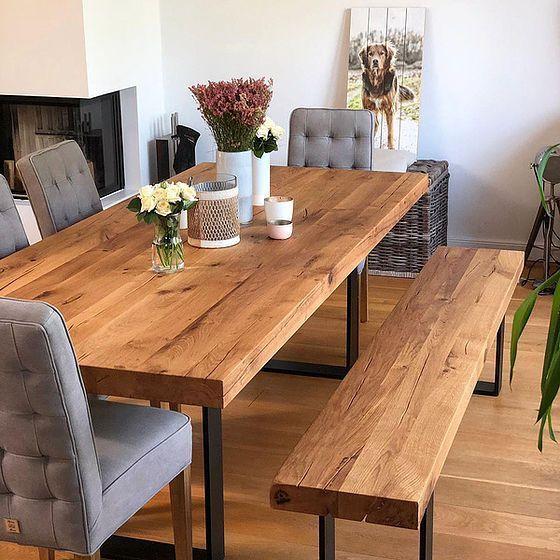 Oak Dining Tables From Holwerk Hamburg Interior Design Ideas Design Dining Holwerkhamburg Ideas Interio In 2020 Holztisch Esstisch Massivholztisch Esszimmertisch
