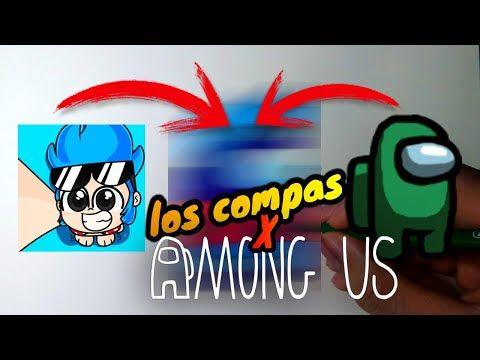Fusionando Personajes Among Us Y Los Compas Fusión Art Challenge Fusion Among Us Y Timba Vk Youtube Challenge Personajes Fusiones
