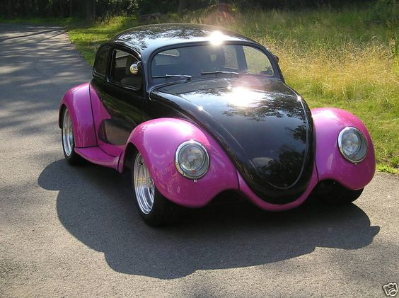 Custom VW Bug, made by excellent customizers.